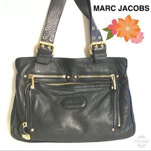 Marc Jacobs Black Shoulder Bag Leather